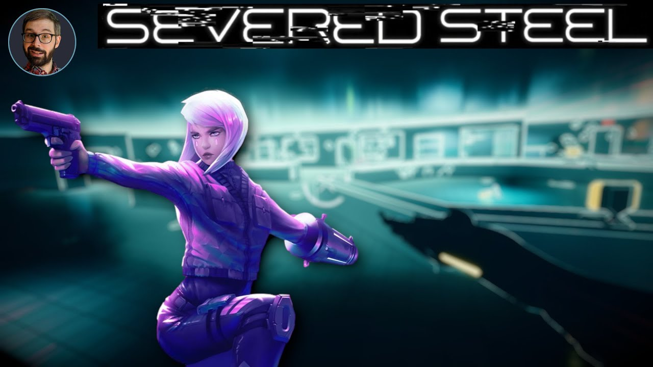 Severed Steel Review   Stylish FPS with bullet time (Video Game Video Review)
