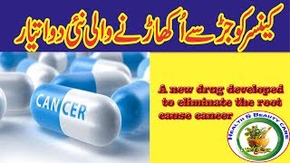 A new drug developed to eliminate the cancer symptoms |ایک نئی دوا کینسر کی علامات کے خاتمے کے لیے