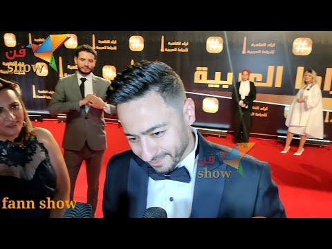 مراسلة تحرج حماده هلال هي مش دي مراتك ولا ايه شوفوا رد فعله