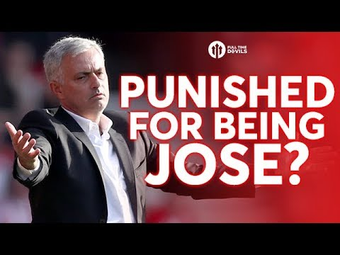 PUNISHED FOR BEING JOSE MOURINHO? Full Time Review SOUTHAMPTON 0-1 MANCHESTER UNITED