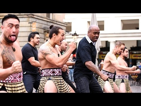 Jonah Lomu's Rugby World Cup 2015 haka!
