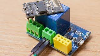 Релейный модуль для ESP8266, ESP-01S Relay