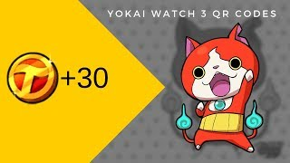 Yo Kai Watch Qr Codes
