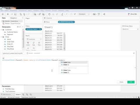 Tableau Tutorial 40: How to Show Previous, Current, and ...