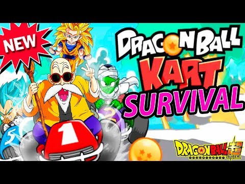 EL JUEGO DRAGON BALL SUPER RACING SUPERVIVENCIA | Goku Dragon Ball Kart | ManoloTEVE