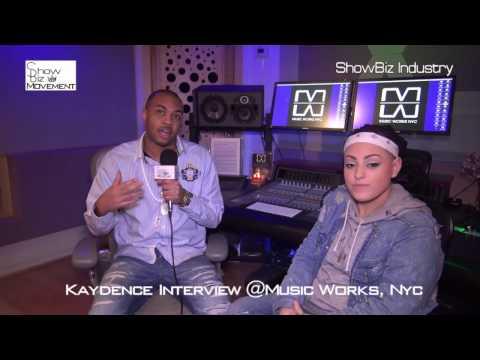 Recording Artist Kaydence @MusicWorks Interview by Trix & Listening Party- www.ShowBizMovement.com