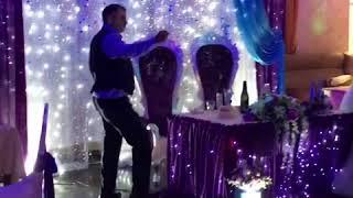 свадьба фиолетово-бирюзовая свадьба