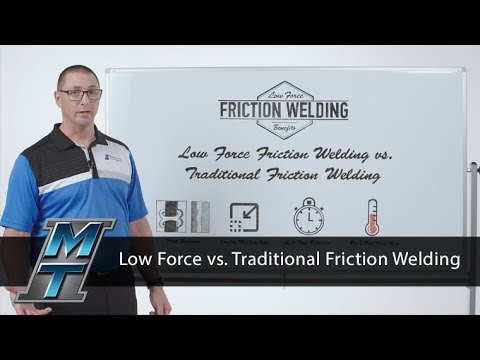 MTI Whiteboard Wednesdays: Low Force vs. Traditional Friction Welding