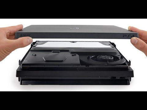Come Pulire ventola PS4 PRO (How to clean PS4 Pro fan from dust)