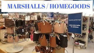 Shopping at Marshalls Entire Store Shown