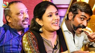 Vijay Sethupathi Has Unique Eating Habits : Chetan & Devadarshini Interview | 96 Movie