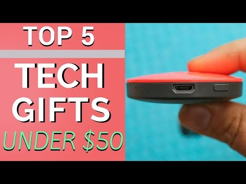 Top 5 Tech Gifts Under $50!