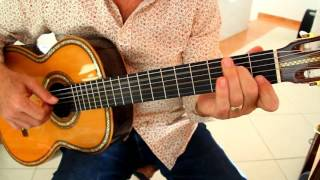 """You Are Not Alone"" for Solo Classical Guitar, Tutorial Video 1/13"