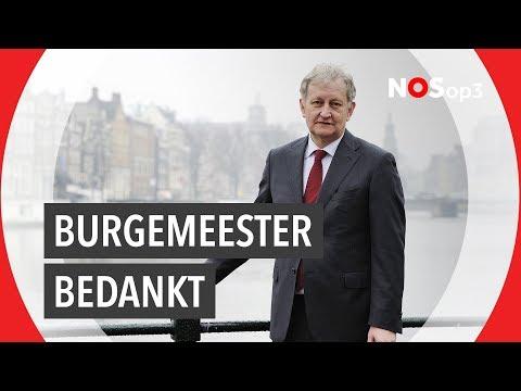 Amsterdam klapt voor Eberhard van der Laan | NOS op 3