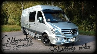 Vetojuhta Mercedes-benz Sprinter. esittely video.