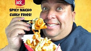 Jack In The Box's® Spicy Nacho Curly Fries REVIEW!