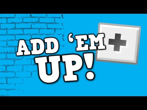 ADD EM UP!  song for kids about adding +1 up to ten