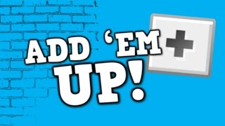 ADD 'EM UP!  (song for kids about adding +1 up to ten)(ADD 'EM UP! A song for kids about adding by ones up to ten Enjoy! To purchase this song in video format (.mp4) or audio format (.m4a), please visit ..., 2014-07-14T15:09:05.000Z)