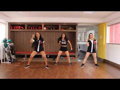 Parangolé - Seu Bumbum Dançando l Coreografia l Ritmos Fit