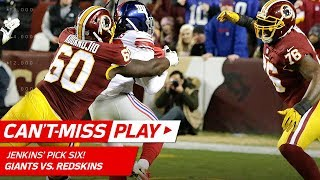 Janoris Jenkins' Tackle-Breaking Pick 6 to Tie the Game! | Can't-Miss Play | NFL Wk 12 Highlights
