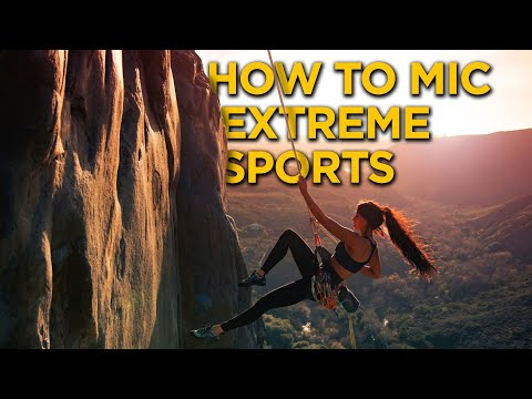 How To Mic Extreme Sports! | Reduce Wind Noise