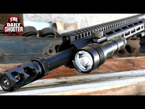 Streamlight ProTac Rail Mount 2 Review and Night Shooting