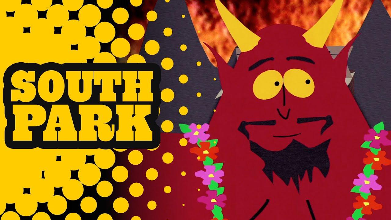 Satan Throws a Luau in Hell - SOUTH PARK