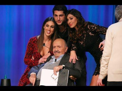 Belen Rodriguez in un sensualissimo tango con Maurizio Costanzo