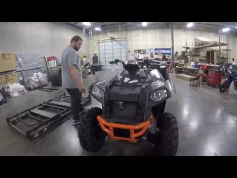 Unboxing Of A 2017 Polaris Scrambler 1000 For Its New Owner