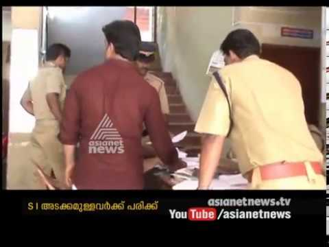 Including Police inspector 4 injured in BAR conflict  | FIR 24 Oct 2016