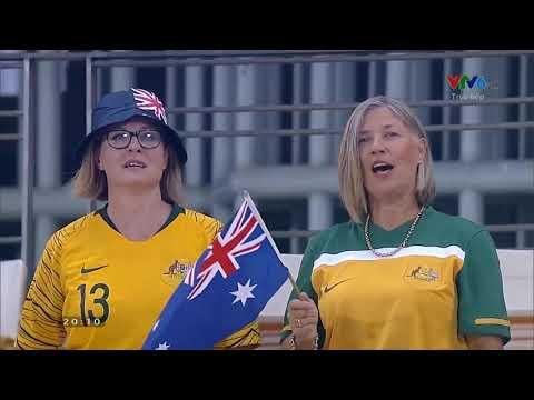 National Anthem Australia And Syria (AFC U23 Championship Thailand 2020)
