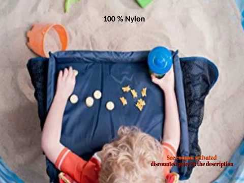 Star Kids Snack Play Travel Tray Easy To Clean Nylon With Mesh Pockets Cup Holder Reinforced Sides K