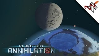 Planetary Annihilation - 4 Players | Planet Destruction | Orbital Battles | Planet Colonization