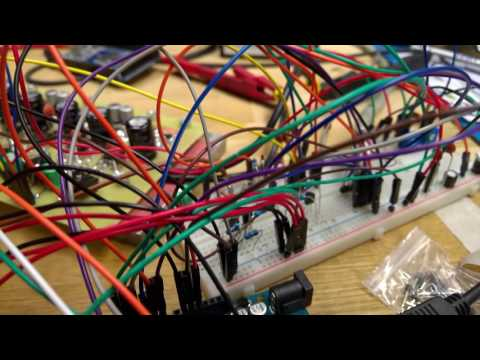 3 phase induction motor control using Arduino Code