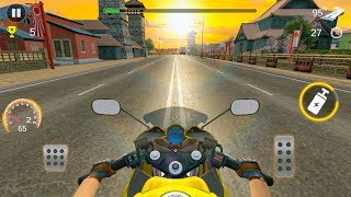 Racing King Moto Rider - motorcycle racing game - Gameplay Android games