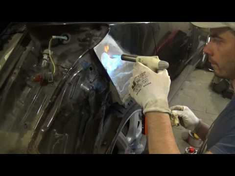 видео: Кузовной Ремонт. Наплавка оловом. body repair of tin
