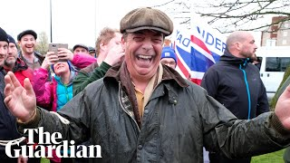 Nigel Farage and Leave Means Leave march set off from Sunderland