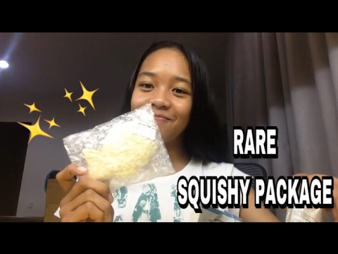 RARE SQUISHY PACKAGE