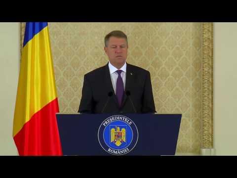 Presedintele Romaniei Klaus Iohannis despre interzicerea casatoriilor intre persoane de acelasi sex