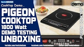 Pigeon Favourite IC 1800 W Induction Cooktop | Under 1500 र | Unboxing And Demo