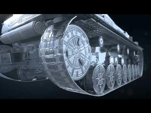piececool Diy 3d metal puzzle Laser Cut German IV Tank