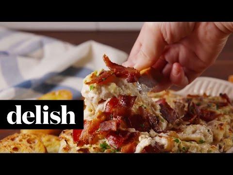 Cheesy Bacon Onion Dip | Delish