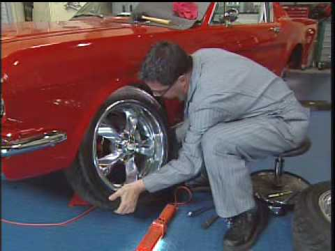1965 Mustang Restoration Wheels Amp Tires Youtube