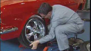 1965 Mustang Restoration - Wheels & Tires