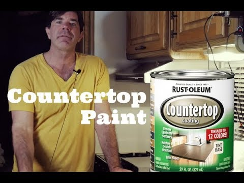 Ep42, My Experience Using Countertop Paint