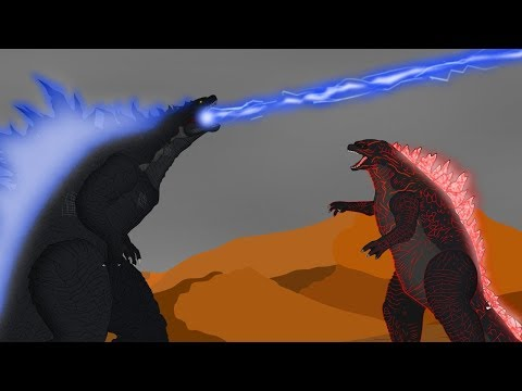 Godzilla vs Legendary Godzilla: Size Comparison | Monsters Ranked Strongest