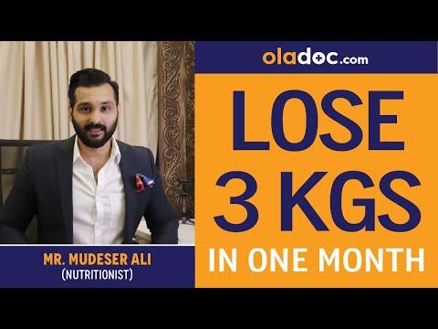 How To Lose Weight Fast Wazan Kam Karne Ka Tarika Urdu Hindi – Lose 3 Kgs In Month-Weight Loss Diet
