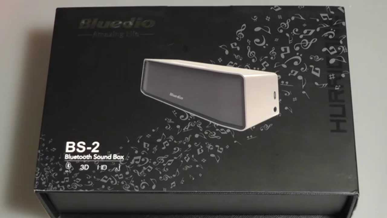 Review Bluedio Bs 2 Bluetooth 3d Speaker Sound Box Youtube