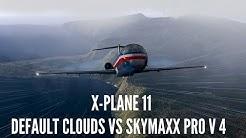 X-Plane 11 - Default Skies VS Skymaxx Pro V4