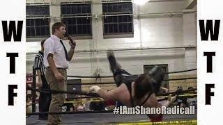 Fat Wrestler Breaks The Ring - WTF Wrestling